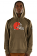 "Cleveland Browns Majestic NFL ""Armor 3"" Men's Pullover Hooded Sweatshirt"