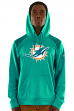 "Miami Dolphins Majestic NFL ""Armor 3"" Men's Pullover Hooded Sweatshirt"