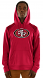 "San Francisco 49ers Majestic NFL ""Armor 3"" Men's Pullover Hooded Sweatshirt"