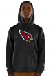 Arizona Cardinals Majestic NFL Armor 3 Men's Pullover Hooded Sweatshirt - Black