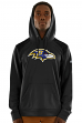 "Baltimore Ravens Majestic NFL ""Armor 3"" Men's Pullover Hooded Sweatshirt - Black"