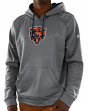"Chicago Bears Majestic NFL ""Armor 3"" Men's Pullover Hooded Sweatshirt - Gray"