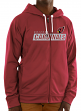 "Arizona Cardinals Majestic NFL ""Game Elite 2"" Men's Full Zip Hooded Sweatshirt"