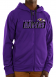 "Baltimore Ravens Majestic NFL ""Game Elite 2"" Men's Full Zip Hooded Sweatshirt"