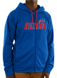 "Buffalo Bills Majestic NFL ""Game Elite 2"" Men's Full Zip Hooded Sweatshirt"