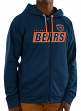 "Chicago Bears Majestic NFL ""Game Elite 2"" Men's Full Zip Hooded Sweatshirt"