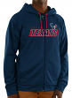 "Houston Texans Majestic NFL ""Game Elite 2"" Men's Full Zip Hooded Sweatshirt"
