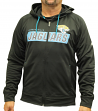 Jacksonville Jaguars Majestic NFL Game Elite 2 Men's Full Zip Hooded Sweatshirt