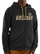 "New Orleans Saints Majestic NFL ""Game Elite 2"" Men's Full Zip Hooded Sweatshirt"