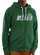 "New York Jets Majestic NFL ""Game Elite 2"" Men's Full Zip Hooded Sweatshirt"
