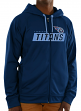 "Tennessee Titans Majestic NFL ""Game Elite 2"" Men's Full Zip Hooded Sweatshirt"