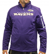 "Baltimore Ravens Majestic NFL ""Teamwork"" Men's Full Zip Mock Neck Sweatshirt"