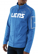 "Detroit Lions Majestic NFL ""Teamwork"" Men's Full Zip Mock Neck Sweatshirt"