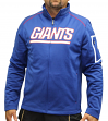 "New York Giants Majestic NFL ""Teamwork"" Men's Full Zip Mock Neck Sweatshirt"
