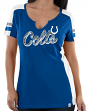 "Indianapolis Colts Women's Majestic NFL ""Pride Playing 2"" V-notch Fashion Shirt"