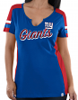 "New York Giants Women's Majestic NFL ""Pride Playing 2"" V-notch Fashion Top Shirt"