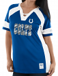 "Indianapolis Colts Women's Majestic NFL ""Draft Me 3"" Jersey Top Shirt - Blue"