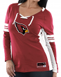 "Arizona Cardinals Women's Majestic NFL ""Winning Style 2"" Long Sleeve V-neck Top"