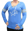 "Detroit Lions Women's Majestic NFL ""Winning Style 2"" Long Sleeve V-neck Top"