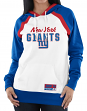 "New York Giants Women's Majestic NFL ""Heritage"" Pullover Hooded Sweatshirt"