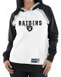 "Oakland Raiders Women's Majestic NFL ""Heritage"" Pullover Hooded Sweatshirt"