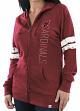 "Arizona Cardinals Women's Majestic NFL ""Tradition"" Full Zip Hooded Sweatshirt"