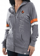"Cincinnati Bengals Women's Majestic NFL ""Tradition"" Full Zip Hooded Sweatshirt"