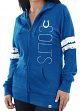 "Indianapolis Colts Women's Majestic NFL ""Tradition"" Full Zip Hooded Sweatshirt"