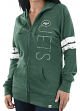 "New York Jets Women's Majestic NFL ""Tradition"" Full Zip Hooded Sweatshirt"