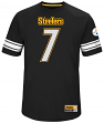 "Ben Roethlisberger Pittsburgh Steelers Majestic NFL ""Hashmark 3"" Jersey Shirt"