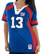 """Odell Beckham New York Giants Women's Majestic NFL """"Drafted"""" Jersey Shirt"""