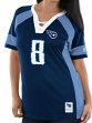 """Marcus Mariota Tennessee Titans Women's Majestic NFL """"Drafted"""" Jersey Shirt"""