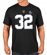 "Marcus Allen Oakland Raiders Majestic Men's ""HOF Eligible Receiver 4"" T-Shirt"