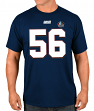 """Lawrence Taylor New York Giants Majestic Men's """"HOF Eligible Receiver 4"""" T-Shirt"""