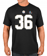 "Jerome Bettis Pittsburgh Steelers Majestic NFL ""HOF Eligible Receiver 4"" T-Shirt"