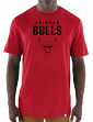 "Chicago Bulls Majestic NBA ""Hot Picks"" Men's Tri-Blend Short Sleeve T-Shirt"