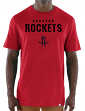 "Houston Rockets Majestic NBA ""Hot Picks"" Men's Tri-Blend Short Sleeve T-Shirt"