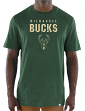 "Milwaukee Bucks Majestic NBA ""Hot Picks"" Men's Tri-Blend Short Sleeve T-Shirt"