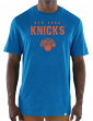 "New York Knicks Majestic NBA ""Hot Picks"" Men's Tri-Blend Short Sleeve T-Shirt"