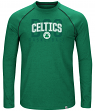 "Boston Celtics Majestic NBA ""Hit the Mark"" Men's Tri-Blend Long Sleeve T-Shirt"