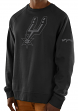 "San Antonio Spurs Majestic NBA ""Team Back Up"" Men's Pullover Crew Sweatshirt"