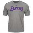 """Los Angeles Lakers Majestic NBA """"Never Give Up"""" Men's Synthetic T-Shirt"""