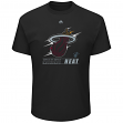 "Miami Heat Majestic NBA ""Visionary"" Men's Short Sleeve Black T-Shirt"