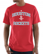"Houston Rockets Majestic NBA ""Heart & Soul 3"" Men's Short Sleeve T-Shirt"
