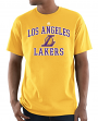 "Los Angeles Lakers Majestic NBA ""Heart & Soul 3"" Men's Short Sleeve T-Shirt"