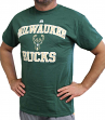 "Milwaukee Bucks Majestic NBA ""Heart & Soul 3"" Men's Short Sleeve T-Shirt"