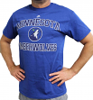 "Minnesota Timberwolves Majestic NBA ""Heart & Soul 3"" Men's Short Sleeve T-Shirt"