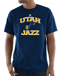 "Utah Jazz Majestic NBA ""Heart & Soul 3"" Men's Short Sleeve T-Shirt"