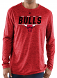 "Chicago Bulls Majestic NBA ""Thrill A Minute"" Men's Long Sleeve T-Shirt"