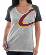"Cleveland Cavaliers Women's Majestic NBA ""Stylin"" V-neck Short Sleeve Tee"